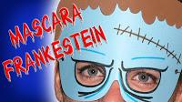 máscara Frankestain para Halloween